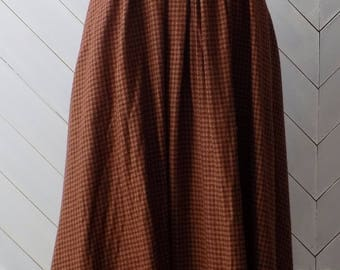 Librarian Chic | Vintage 1980's Jane Neal TannerSport Skirt | Xs S