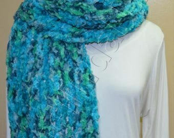 Crochet Extra Long Scarf