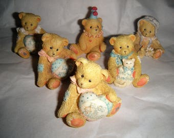 ENESCO Six Tiny Cherished Teddies