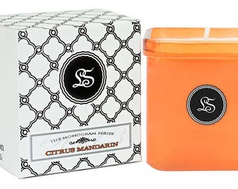 Soy Scented Candle - Citrus Mandarin