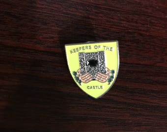 Keepers Of The Castle Pin/Badge