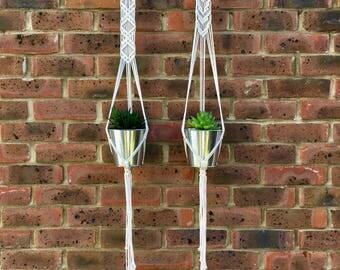 Rory and Rhea Macrame Plant Hangers