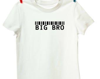Big Bro or Sis Barcode T-Shirt