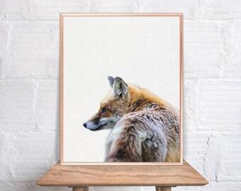 Fox wall art / Fox home decor / Fox Print / Fox / Fox Art / Fox Wall Decor / home decor Fox #79