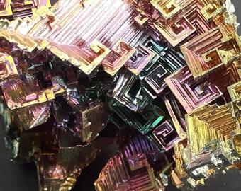 123 Grams Bismuth Crystal