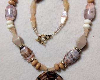 From the Heart Summer at the Beach Necklace