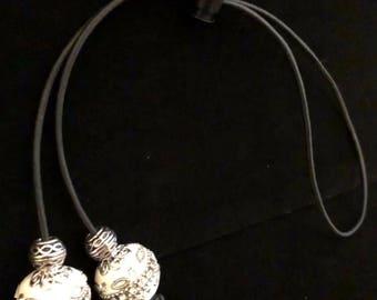 Elegant Silver Loc Tie