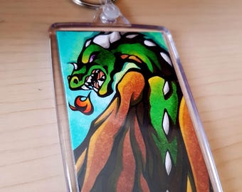 PICTURE KEYRING - Dragon