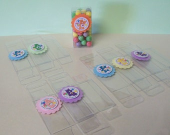 8 CARE BEARS  Candy Boxes Birthday Party Favor