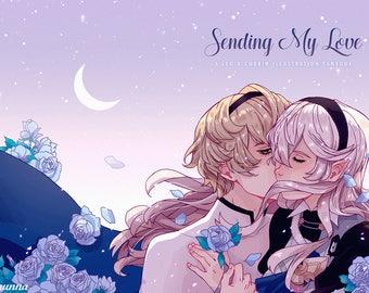 Sending My Love: A Leo & Corrin Illustration Fanbook (Fire Emblem Fates)