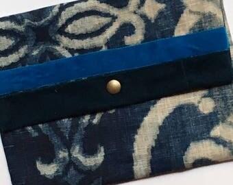 BLUEGLAM damask fabric Pocket