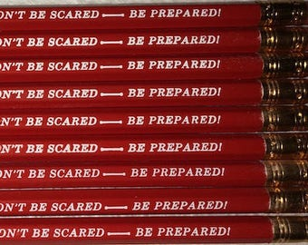 Dont be scared be prepared!
