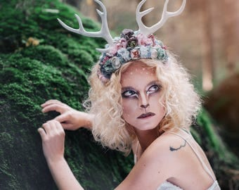 "Headband ""little deer"" from Halloween collection"