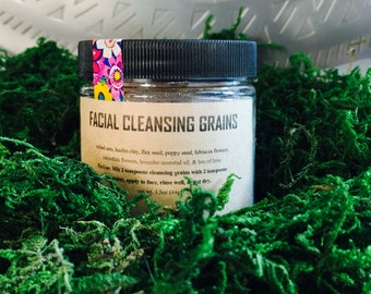 Facial Cleansing Grains