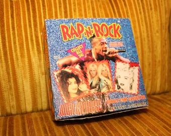 Rap N Rock 1991 Cassette Candy Case Box MC Hammer Madonna George Michael Vanilla Ice Janet Jackson Run DMC Tiffany Nelson LLCOOLJ Tone Loc