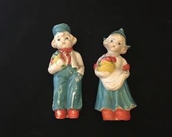 Vintage Dutch Boy and Girl Figurine