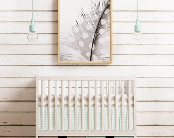 Feather Photography, Instant Digital Download, Nursery Print