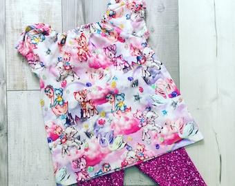 Peasant top girls shirt, girls clothes, baby girl clothes, peasant top with sleeves, peasant top, baby peasant top, jersey fabric girls top