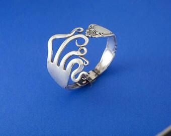Curled/Twisted Fork Bracelet