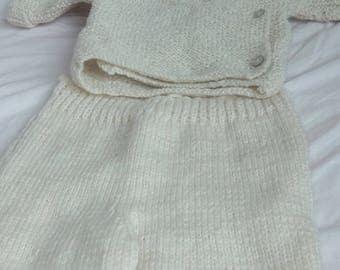 Braciere baby 0-6 month white. Off-white