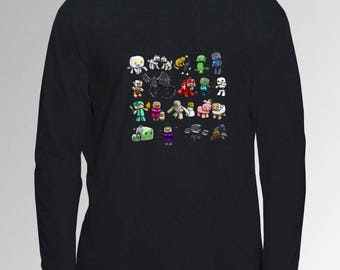 Minecraft Long Sleeved Top