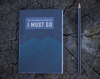 Wanderlust A6 Pocket Notebook