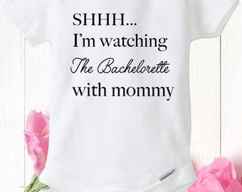 Bachelor onesie, the bachelorette, baby bodysuit, tv show, reality tv, bachelorette shirt, baby shower gift, the bachelor show, monday show