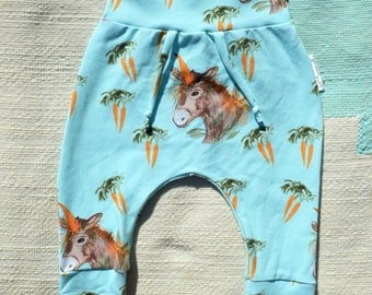Carrot collection Ane evolutive pants exclusive Coco Dandelion fall winter