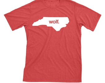 North Carolina Wolf NC State Home Tshirt