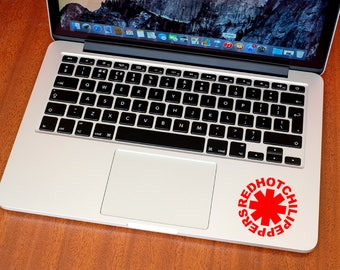 Red Hot Chili Peppers Decal - RHCP Sticker - Music Stickers - MacBook Decal - Car Stickers