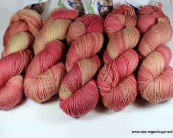 Merino baby 100g, 440m ll, hand dyed