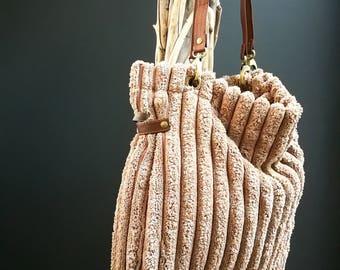 Bolso terciopelo, bolso pana, bolso personalizado, regalo personalizado, nombre bordado