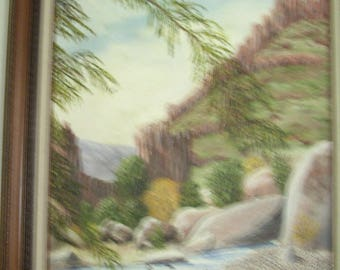 Arizona Wash  Visitors 0640 ronmyersartist