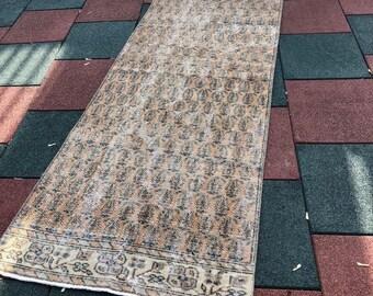"Vintage oushak rug,floor rug.2""8x6""9ft. Oushak vintage rug,hallway rug,area desing rug,carpet,interior rug, turkish rug,small runner rug"