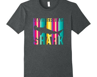 Shark Top - Hammerhead Shirt - Shark Lover Gift - Shark Gift Idea - Hammerhead Tee - Hammerhead Shark