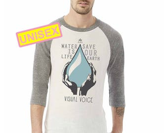 Water is Life 3/4 Sleeve