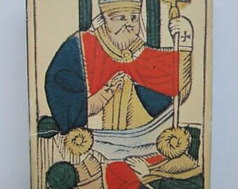 1983 Tarot Rhenan 78 Cards German Marseille Piatnik Vienna Ignaz Krebs Near Mint