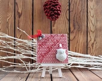 Owl,Christmas Decoration, Christmas Wood Sign,Christmas Decor,Christmas Sign,Rustic Christmas,Christmas Gift,Holiday Decor,Holiday Wood Sign