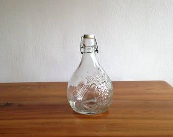 Bottle of juice - carafe - Casadis Milano - Italy