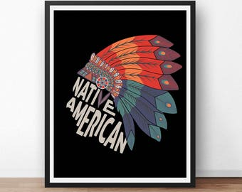 Native american art | Etsy