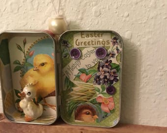 altoid tin  easter memory