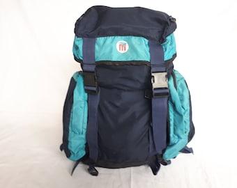 Marshal blue hiking bag, backpack vintage