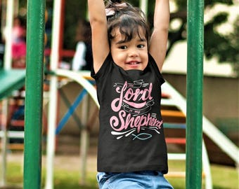 The Lord Is My Shephard Christian Youth Shirt or bodysuit