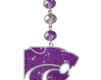 KANSAS STATE Wildcats *Bling MAGNETIC Ornament,Ksu Home Decor,Ksu Ornament,Ksu gifts,Ksu Decor,ksu football,ksu,kstate,K-state,Emaw