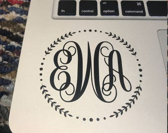 Decorative Monogram Sticker