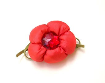 Handmade Flower Brooch, Handmade Felted Flower Brooch, Accessories