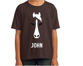 Fast horse etsy for Custom shirts fast delivery