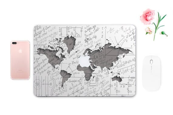 Macbook map sticker decal macbook air 13 apple protective full like this item gumiabroncs Image collections