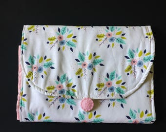 Diaper Clutch/ Diaper Changing Pad