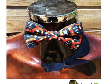 Papillonen 24 wax fabric bow
